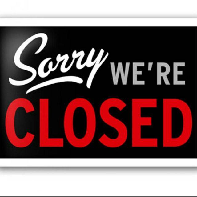 HOY mircoles!! Permaneceremos cerrado Lamentamos los inconvenientes que pueda causarhellip