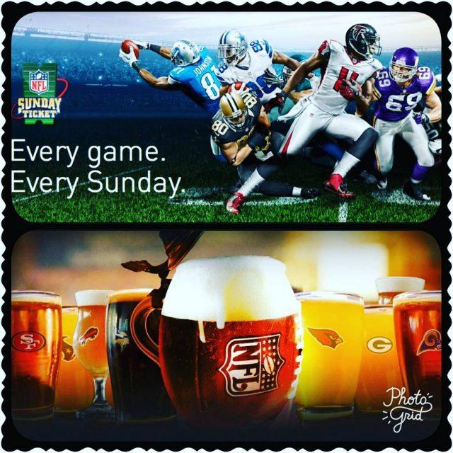 Todos los Domingo En pantalla grande!! nfl football